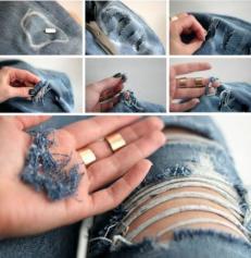 Destroyed Jeans