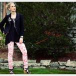 Calça floral - Gostou? Tem o DIY aqui >>> http://bit.ly/Ix4jMT
